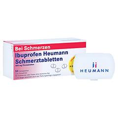 Ibuprofen Heumann Schmerztabletten 400mg + gratis Tablettenbox Heumann