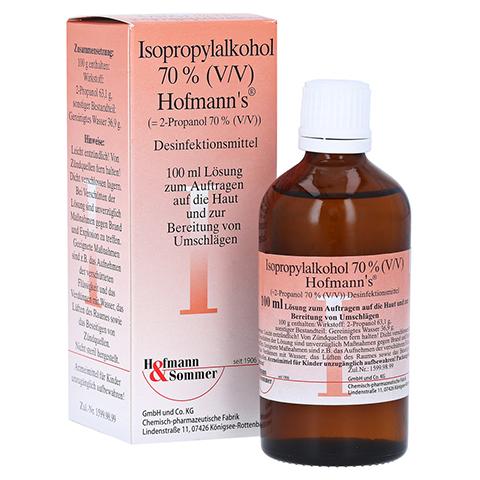 ISOPROPYLALKOHOL 70% V/V Hofmann's 100 Milliliter