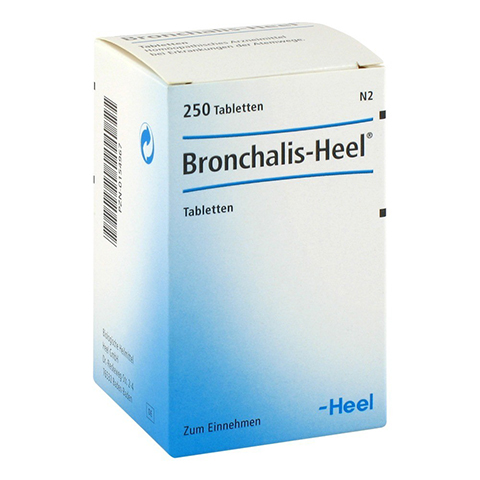 BRONCHALIS Heel Tabletten 250 Stück N2