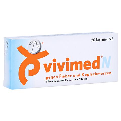 Vivimed N gegen Fieber und Kopfschmerzen 20 Stück N2