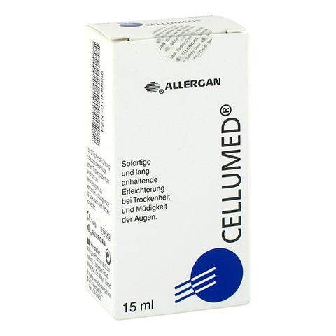 CELLUMED Augentropfen 15 Milliliter
