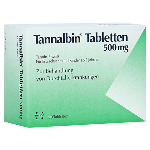 Tannalbin 50 Stück