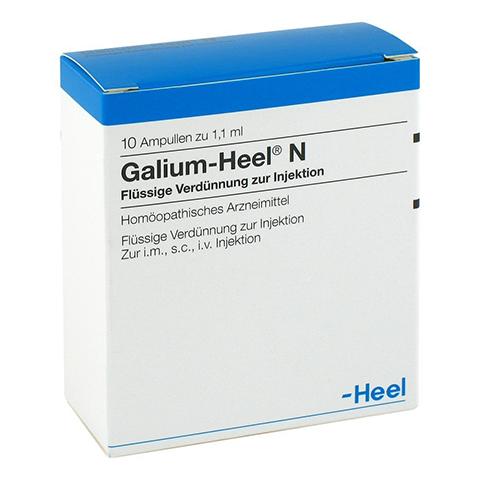 GALIUM HEEL N Ampullen 10 Stück N1