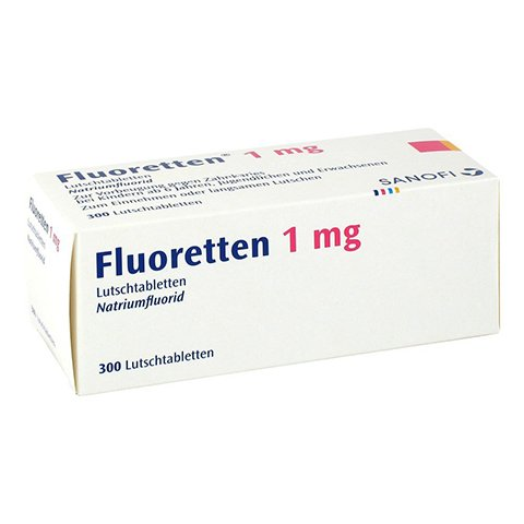 Fluoretten 1mg 300 Stück N3