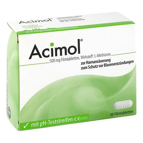 ACIMOL mit pH Teststreifen Filmtabletten 48 Stück N2