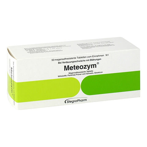 Meteozym 50 Stück N1
