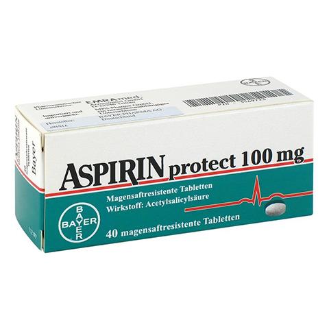 ASPIRIN PROTECT 100 mg magensaftres.Tabletten 40 Stück N2