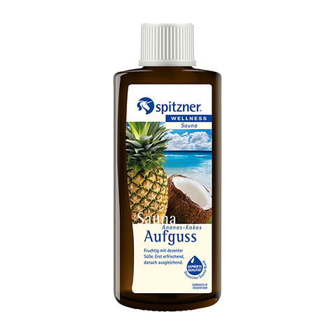 SPITZNER Saunaaufguss Ananas-Kokos Wellness 190 Milliliter