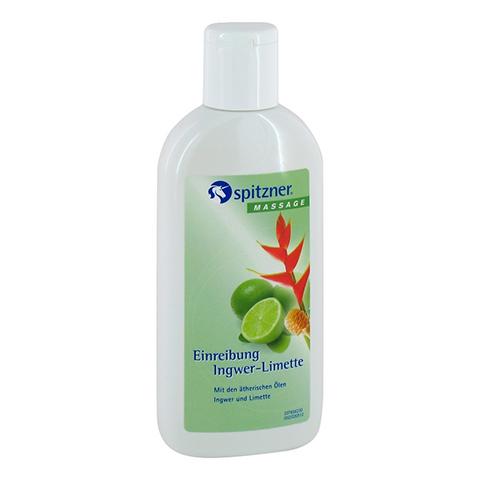 SPITZNER Massage Einreibung Ingwer Limette 200 Milliliter