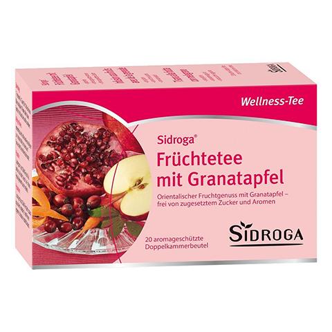 SIDROGA Wellness Früchtetee m.Granatapfel Filterb. 20x2.0 Gramm