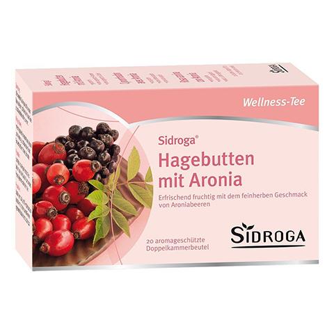 SIDROGA Wellness Hagebutten mit Aronia Filterbtl. 20 Stück