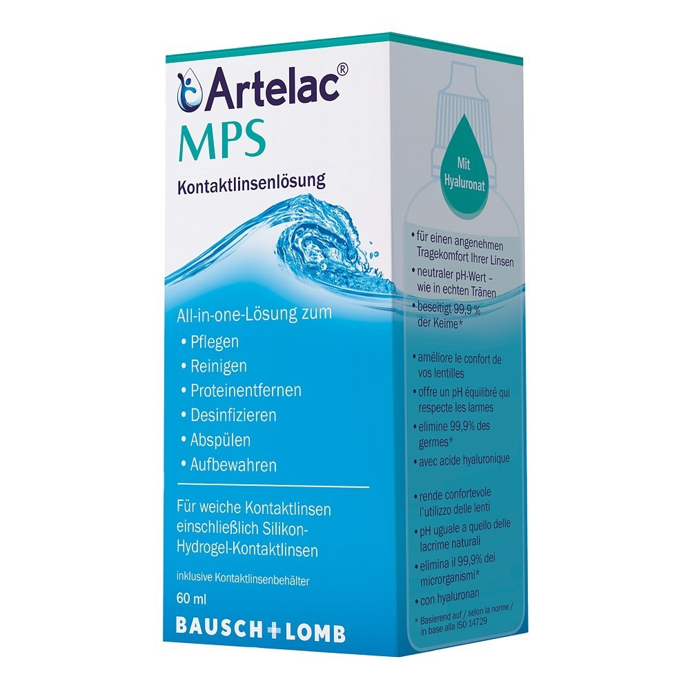 ARTELAC MPS Kontaktlinsenlösung 60 Milliliter