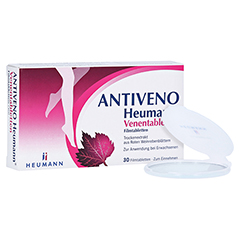 ANTIVENO Heumann Venentabletten + gratis Heumann Taschenspiegel 30 Stück