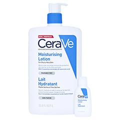 CERAVE Feuchtigkeitslotion + gratis CeraVe Feuchtigkeitslotion 20ml 1 Liter