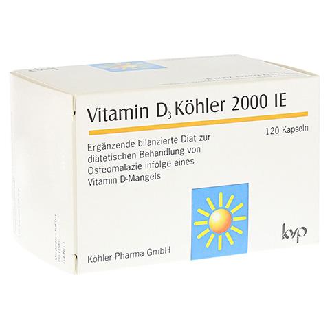 VITAMIN D3 Köhler 2.000 IE Kapseln 120 Stück