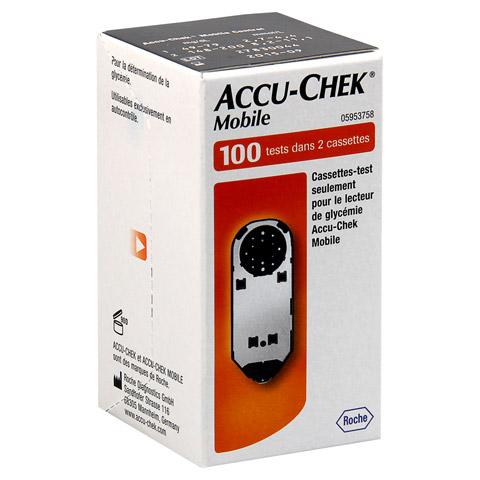 ACCU CHEK Mobile Testkassette 100 St�ck
