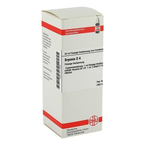 BRYONIA D 4 Dilution 50 Milliliter N1