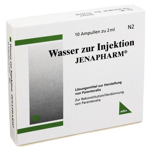 WASSER zur Injektion Jenapharm Ampullen 10x2 Milliliter N2