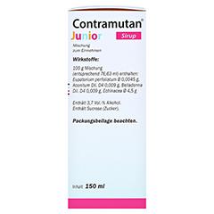 CONTRAMUTAN Junior Sirup 150 Milliliter N1 - Rechte Seite