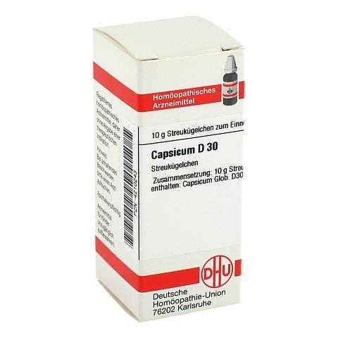 CAPSICUM D 30 Globuli 10 Gramm N1
