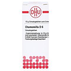 CHAMOMILLA D 6 Globuli 10 Gramm N1 - Vorderseite