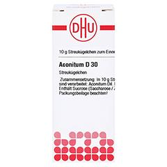 ACONITUM D 30 Globuli 10 Gramm N1 - Vorderseite