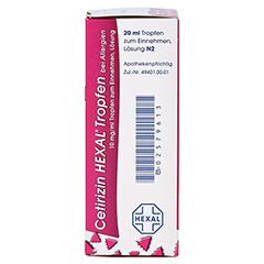 Cetirizin HEXAL bei Allergien 10mg/ml 20 Milliliter N2 - Oberseite