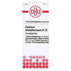 CALCIUM PHOSPHORICUM D 12 Globuli 10 Gramm N1 - Vorderseite