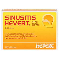 SINUSITIS HEVERT SL Tabletten 100 Stück N1 - Vorderseite