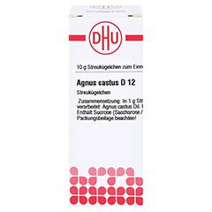 AGNUS CASTUS D 12 Globuli 10 Gramm N1 - Vorderseite
