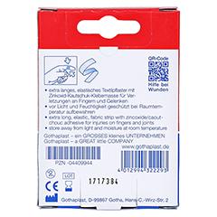 Gothaplast Fingerpflaster 12x2cm elastisch 5x2 Stück - Rückseite