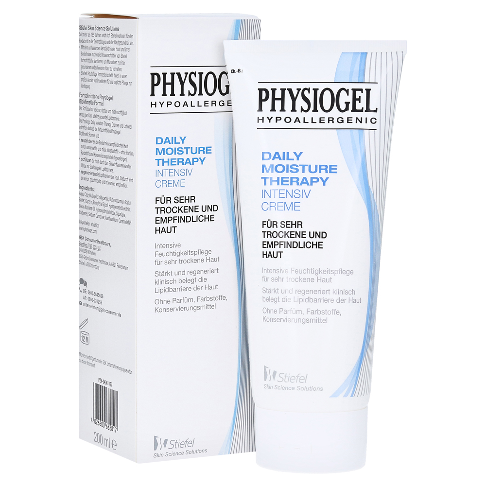 Physiogel Daily Moisture Therapy Intensiv Creme 200 Milliliter Care Body Lotion 200ml