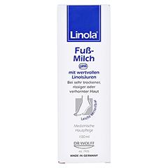 Linola Fuß-milch 100 Milliliter - Vorderseite