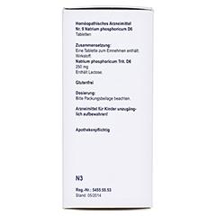 BIOCHEMIE Orthim 9 Natrium phosphoricum D 6 Tabl. 400 Stück N3 - Linke Seite