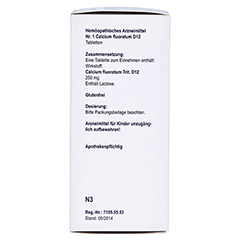 BIOCHEMIE Orthim 1 Calcium fluoratum D 12 Tabl. 400 Stück N3 - Linke Seite