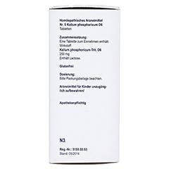 BIOCHEMIE Orthim 5 Kalium phosphoricum D 6 Tabl. 400 Stück N3 - Linke Seite
