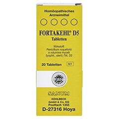 FORTAKEHL D 5 Tabletten 20 Stück N1 - Vorderseite
