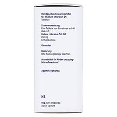 BIOCHEMIE Orthim 4 Kalium chloratum D 6 Tabletten 400 Stück N3 - Linke Seite