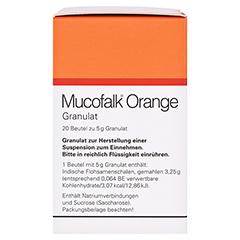 Mucofalk Orange Beutel 20 Stück N1 - Rechte Seite