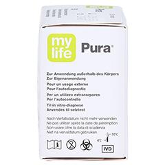 Mylife Pura Blutzucker Teststreifen 50 Stück - Rechte Seite