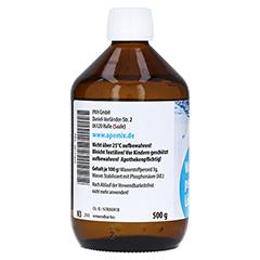 WASSERSTOFFPEROXID 3% DAB 10 Lösung 500 Gramm N3 - Rechte Seite