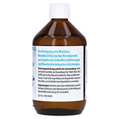 WASSERSTOFFPEROXID 3% DAB 10 Lösung 500 Gramm N3 - Linke Seite
