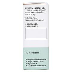 BIOCHEMIE Pflüger 5 Kalium phosphoricum D 6 Tabl. 100 Stück N1 - Linke Seite