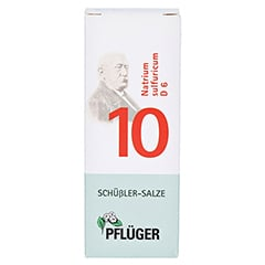 BIOCHEMIE Pflüger 10 Natrium sulfuricum D 6 Tabl. 100 Stück N1 - Vorderseite