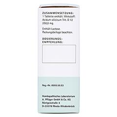 BIOCHEMIE Pflüger 11 Silicea D 12 Tabletten 100 Stück N1 - Linke Seite