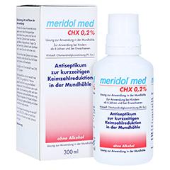 Meridol med CHX 0,2% Lösung zur Anwendung in der Mundhöhle 300 Milliliter