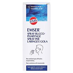 Emser Hals- und Rachenspray 20 Milliliter - Rückseite