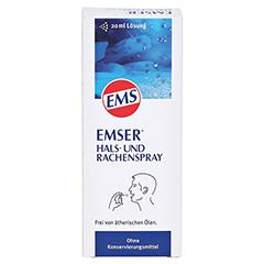 Emser Hals- und Rachenspray 20 Milliliter - Vorderseite