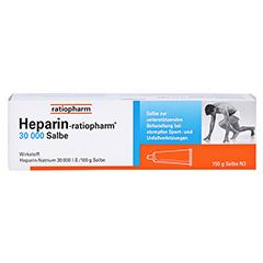 Heparin-ratiopharm 30000 150 Gramm N3 - Vorderseite