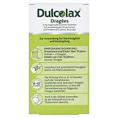 Dulcolax Dragees 5mg 100 Stück N3 - Rückseite